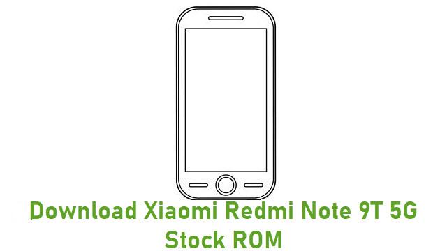 Download Xiaomi Redmi Note 9T 5G Stock ROM