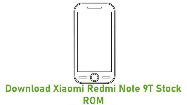 Download Xiaomi Redmi Note 9T Stock ROM