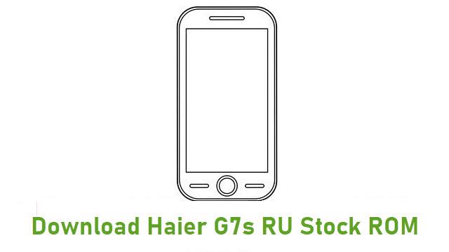 Download Haier G7s RU Stock ROM