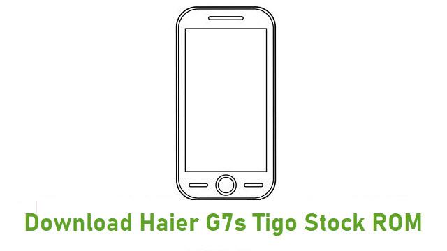 Download Haier G7s Tigo Stock ROM