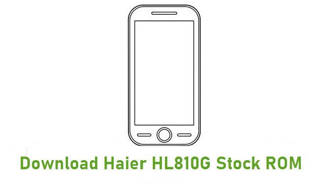 Download Haier HL810G Stock ROM