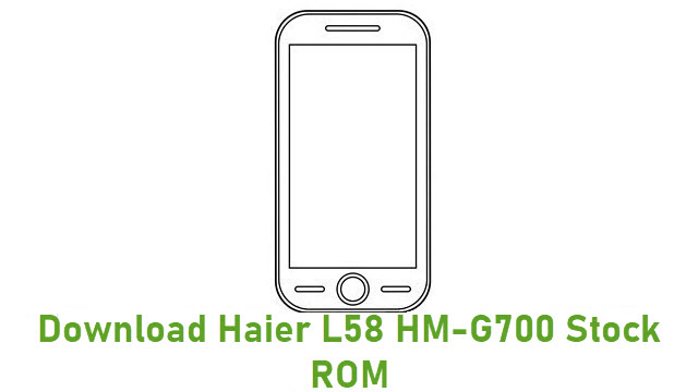 Download Haier L58 HM-G700 Stock ROM