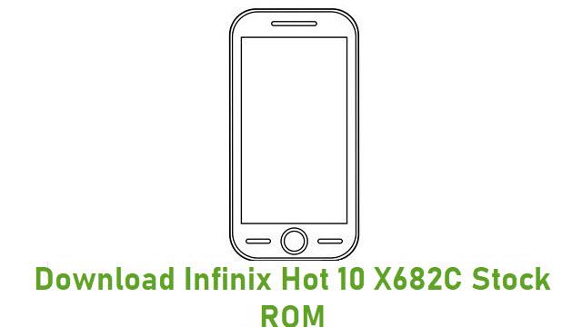 Download Infinix Hot 10 X682C Stock ROM