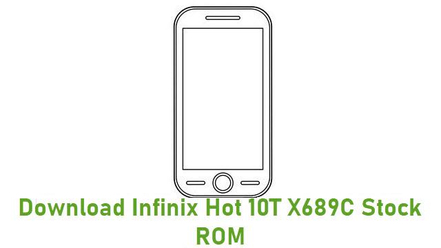 Download Infinix Hot 10T X689C Stock ROM