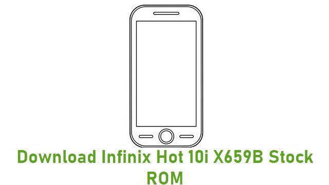 Download Infinix Hot 10i X659B Stock ROM
