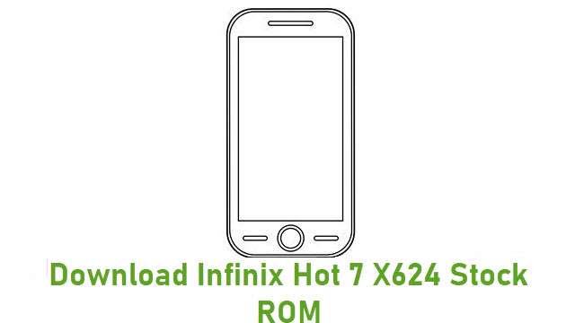 Download Infinix Hot 7 X624 Stock ROM