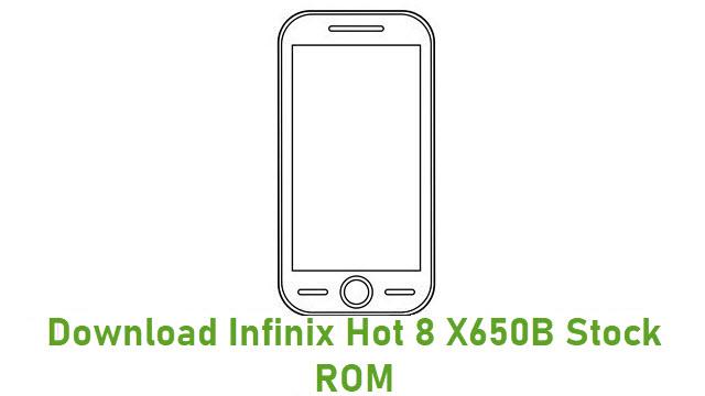 Download Infinix Hot 8 X650B Stock ROM