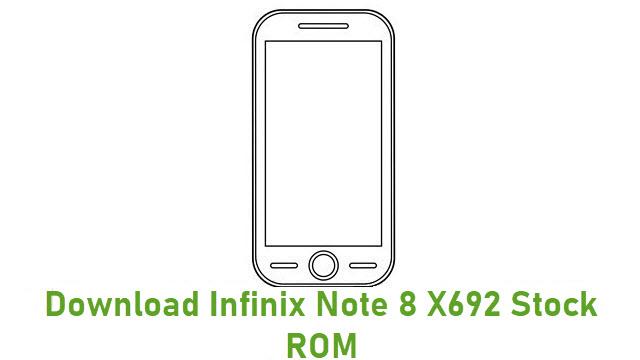 Download Infinix Note 8 X692 Stock ROM