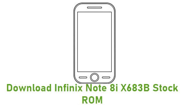 Download Infinix Note 8i X683B Stock ROM