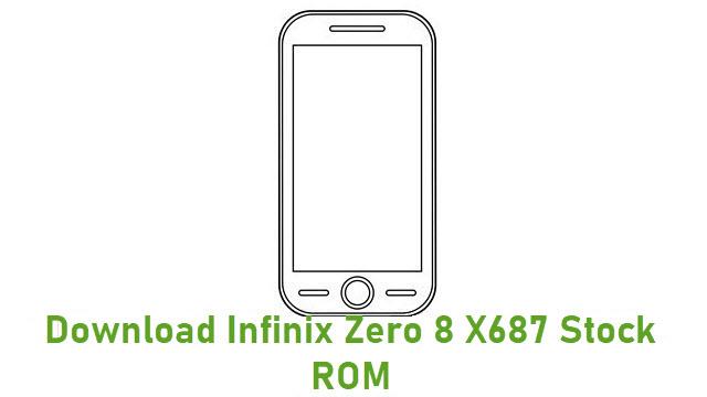Download Infinix Zero 8 X687 Stock ROM