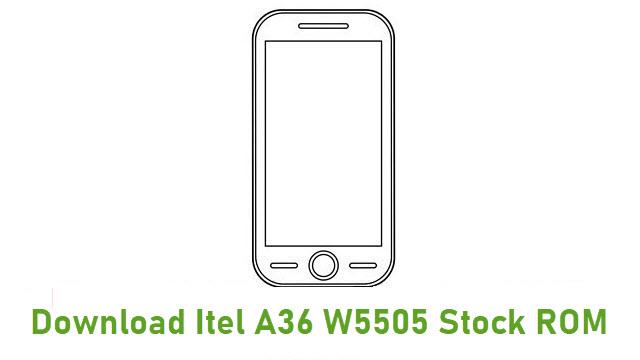 Download Itel A36 W5505 Stock ROM