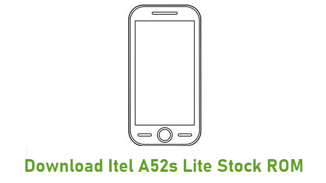 Download Itel A52s Lite Stock ROM
