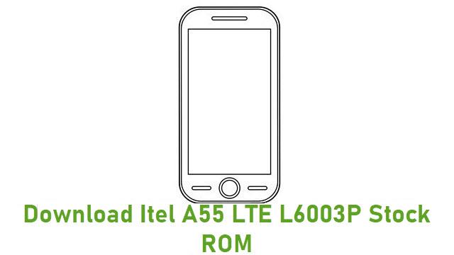 Download Itel A55 LTE L6003P Stock ROM
