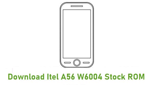 Download Itel A56 W6004 Stock ROM