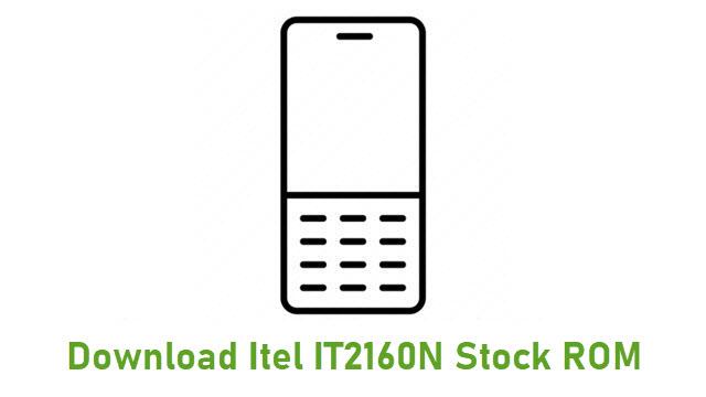 Download Itel IT2160N Stock ROM