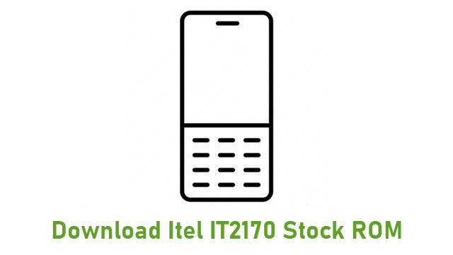 Download Itel IT2170 Stock ROM