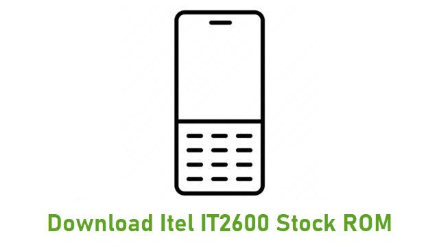 Download Itel IT2600 Stock ROM