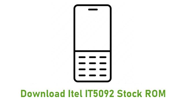 Download Itel IT5092 Stock ROM