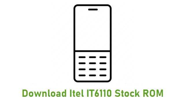 Download Itel IT6110 Stock ROM