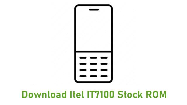 Download Itel IT7100 Stock ROM