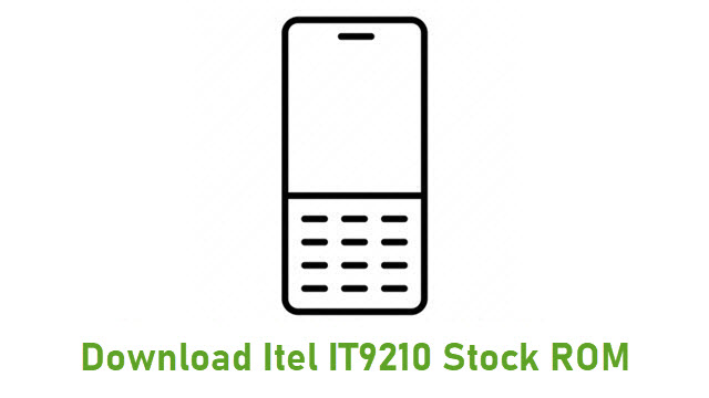 Download Itel IT9210 Stock ROM