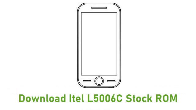 Download Itel L5006C Stock ROM