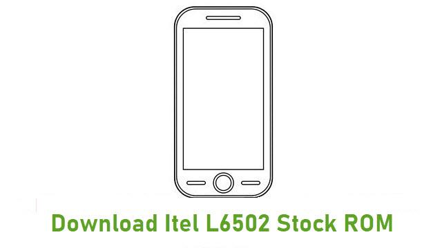 Download Itel L6502 Stock ROM
