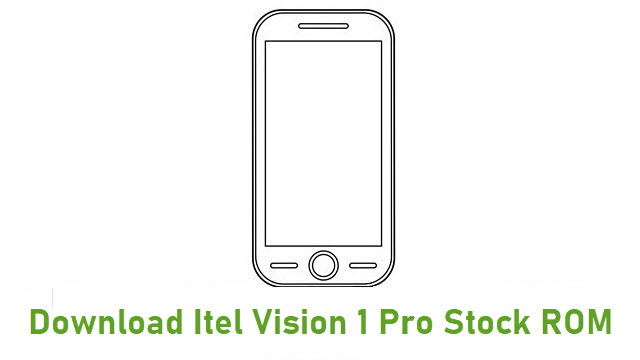 Download Itel Vision 1 Pro Stock ROM