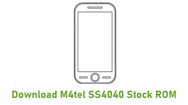 Download M4tel SS4040 Stock ROM