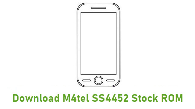 Download M4tel SS4452 Stock ROM