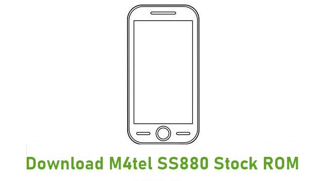 Download M4tel SS880 Stock ROM