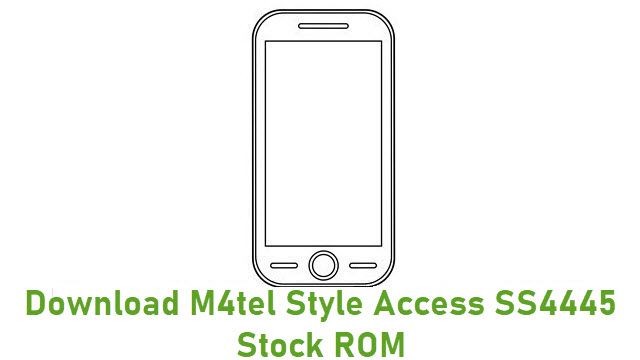 Download M4tel Style Access SS4445 Stock ROM