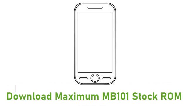Download Maximum MB101 Stock ROM