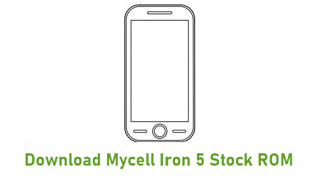 Download Mycell Iron 5 Stock ROM