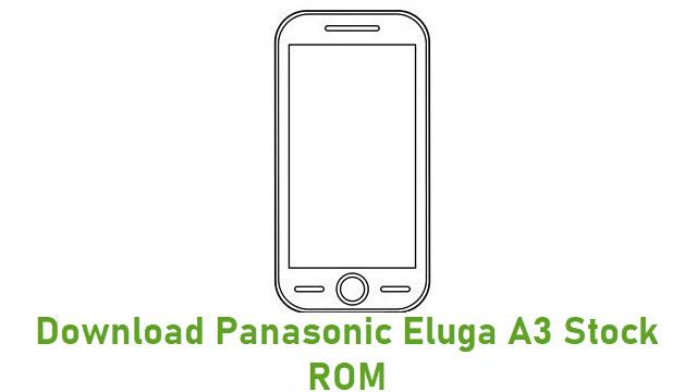 Download Panasonic Eluga A3 Stock ROM