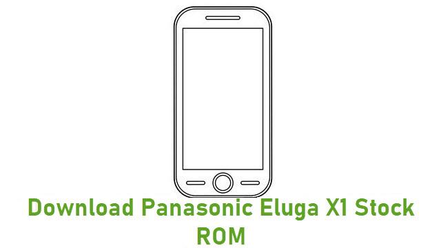 Download Panasonic Eluga X1 Stock ROM
