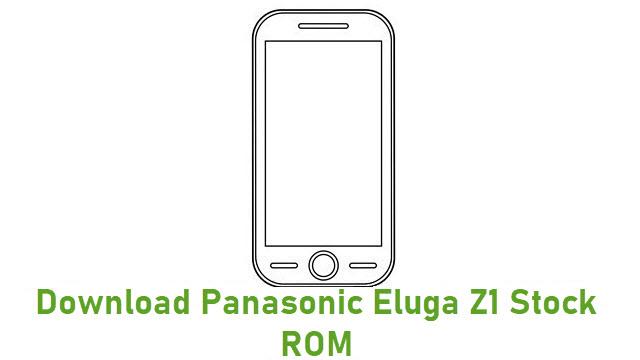 Download Panasonic Eluga Z1 Stock ROM