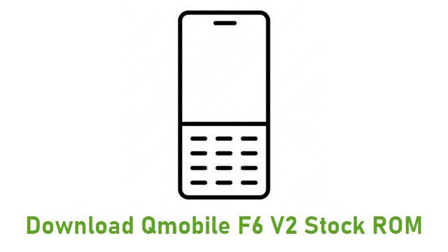 Download Qmobile F6 V2 Stock ROM