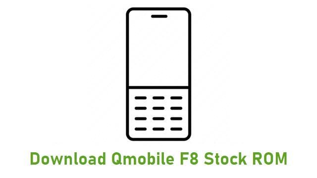 Download Qmobile F8 Stock ROM