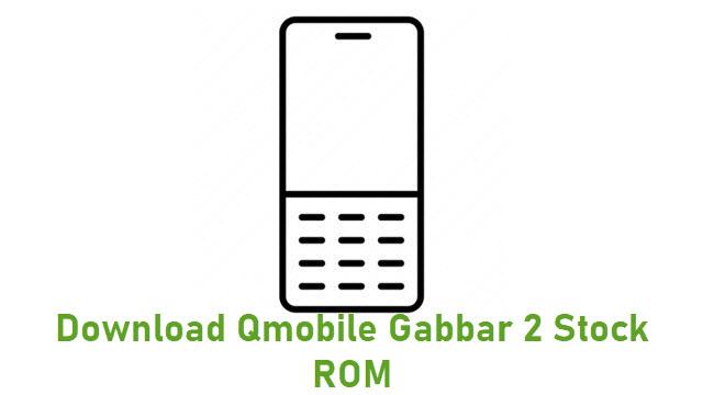 Download Qmobile Gabbar 2 Stock ROM