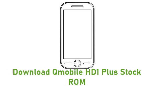 Download Qmobile HD1 Plus Stock ROM