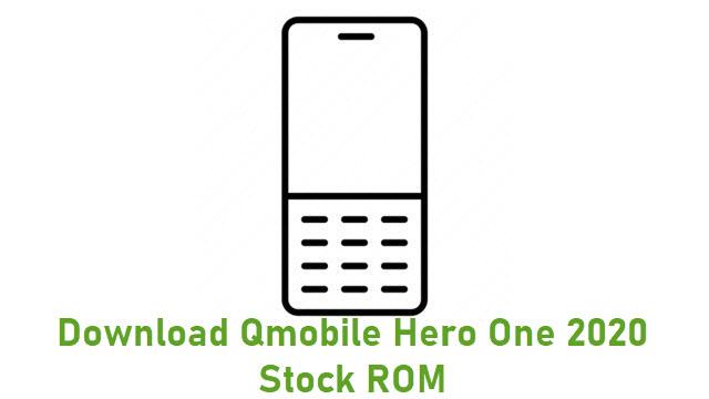 Download Qmobile Hero One 2020 Stock ROM