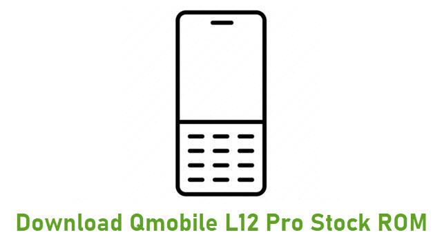 Download Qmobile L12 Pro Stock ROM