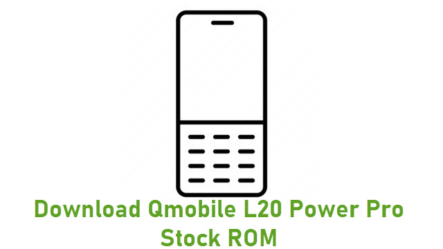 Download Qmobile L20 Power Pro Stock ROM