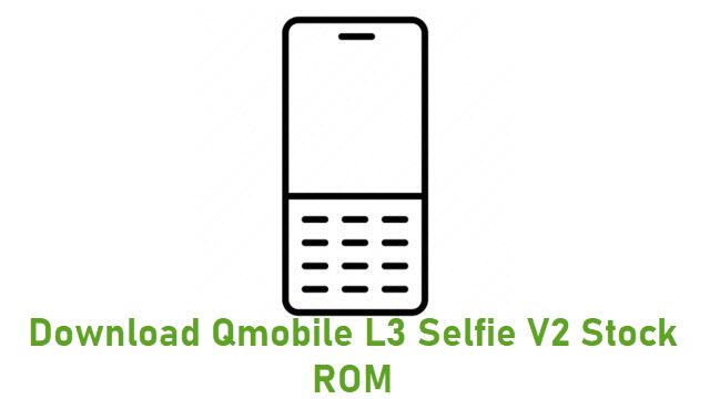 Download Qmobile L3 Selfie V2 Stock ROM