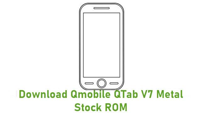 Download Qmobile QTab V7 Metal Stock ROM