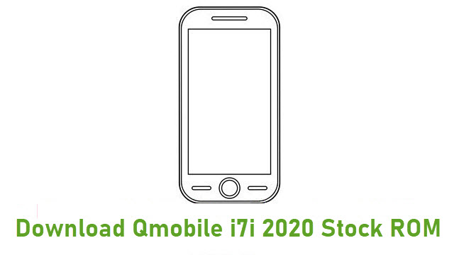Download Qmobile i7i 2020 Stock ROM
