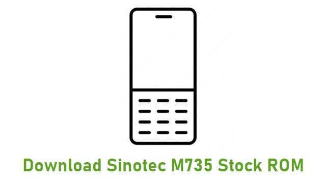 Download Sinotec M735 Stock ROM