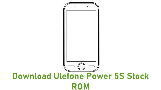 Download Ulefone Power 5S Stock ROM