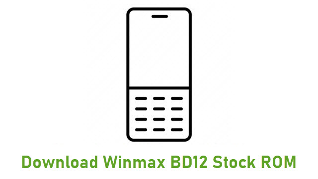 Download Winmax BD12 Stock ROM
